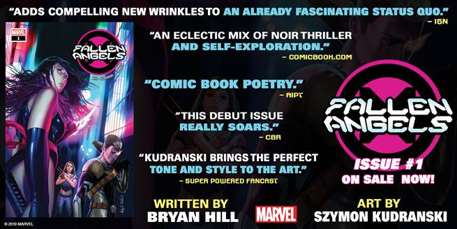 See what critics are saying about 'Fallen Angels' #1 with new Marvel trailer