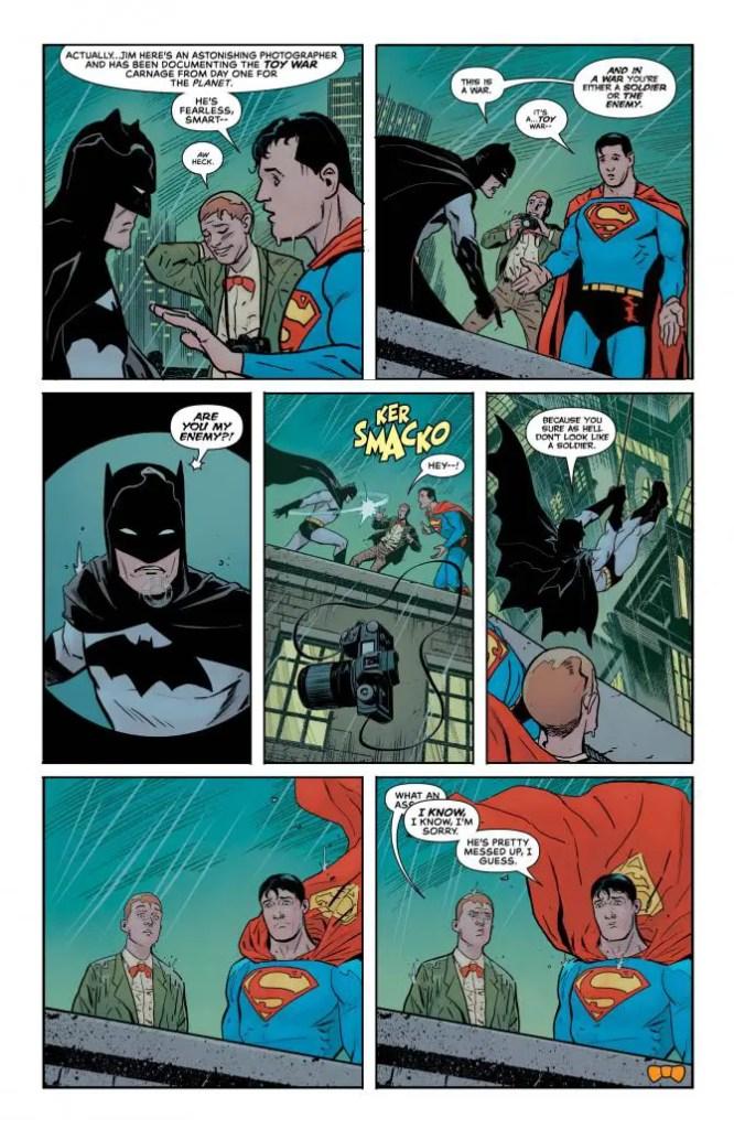 Jimmy Olsen #5 review: I believe in Gotham city