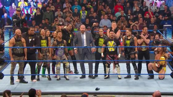 Last week's SmackDown was a wrestling anomaly: a show with a full, self-contained narrative arc.