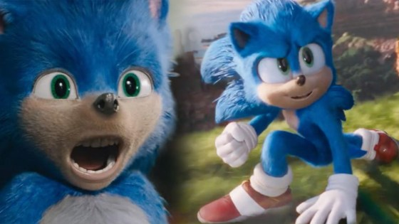 Sonic the Hedgehog looks way less horrifying in the movie's new trailer