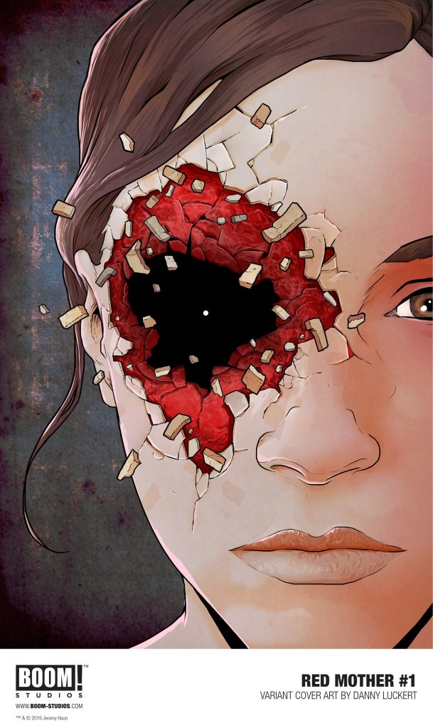 BOOM! Studios First Look: Jeremy Haun and Danny Luckert's 'The Red Mother' #1