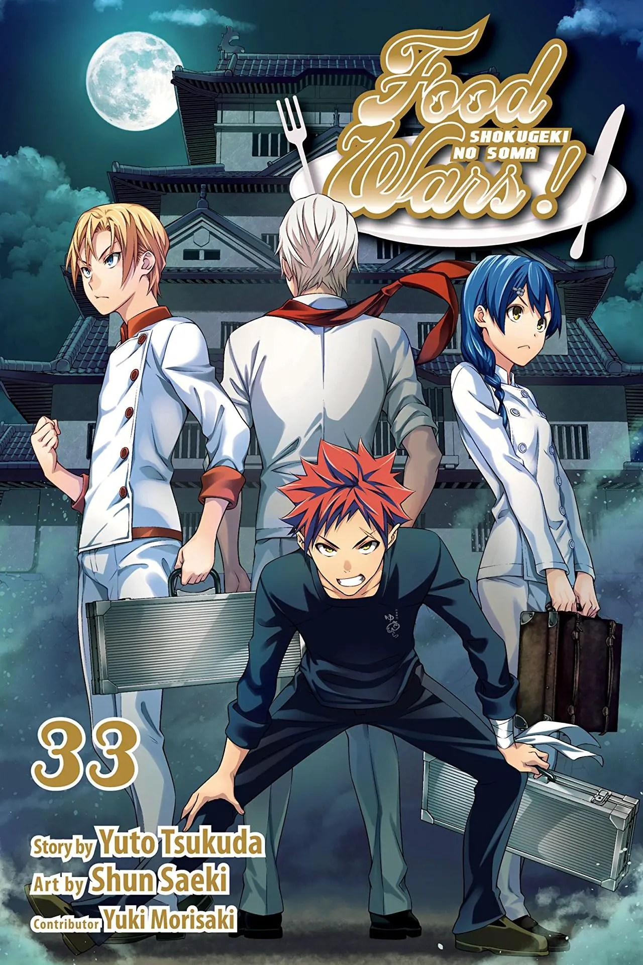 Food Wars!: Shokugeki no Soma, Vol. 33 Review