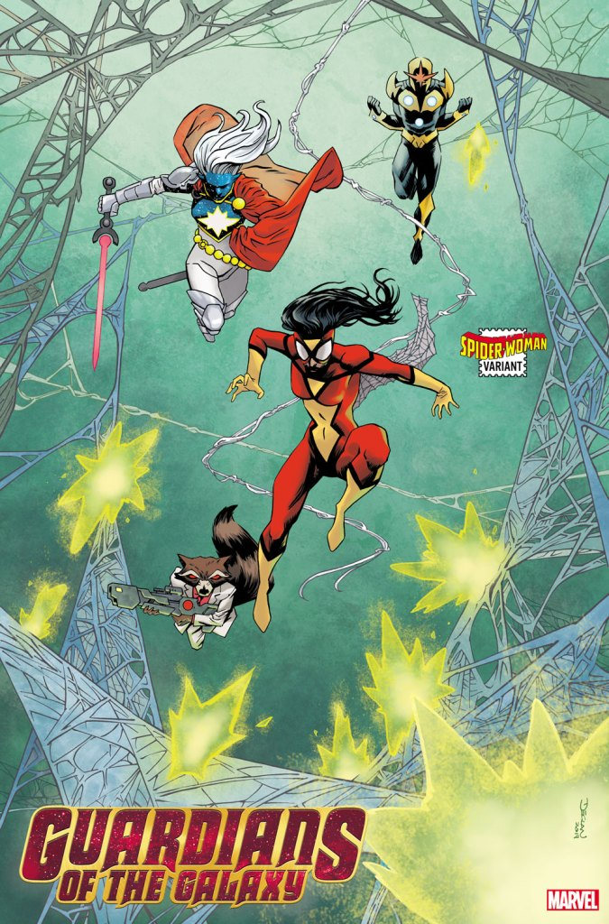 Spider-Woman (and her classic costume) teams up with all sorts of heroes in newly revealed variant covers