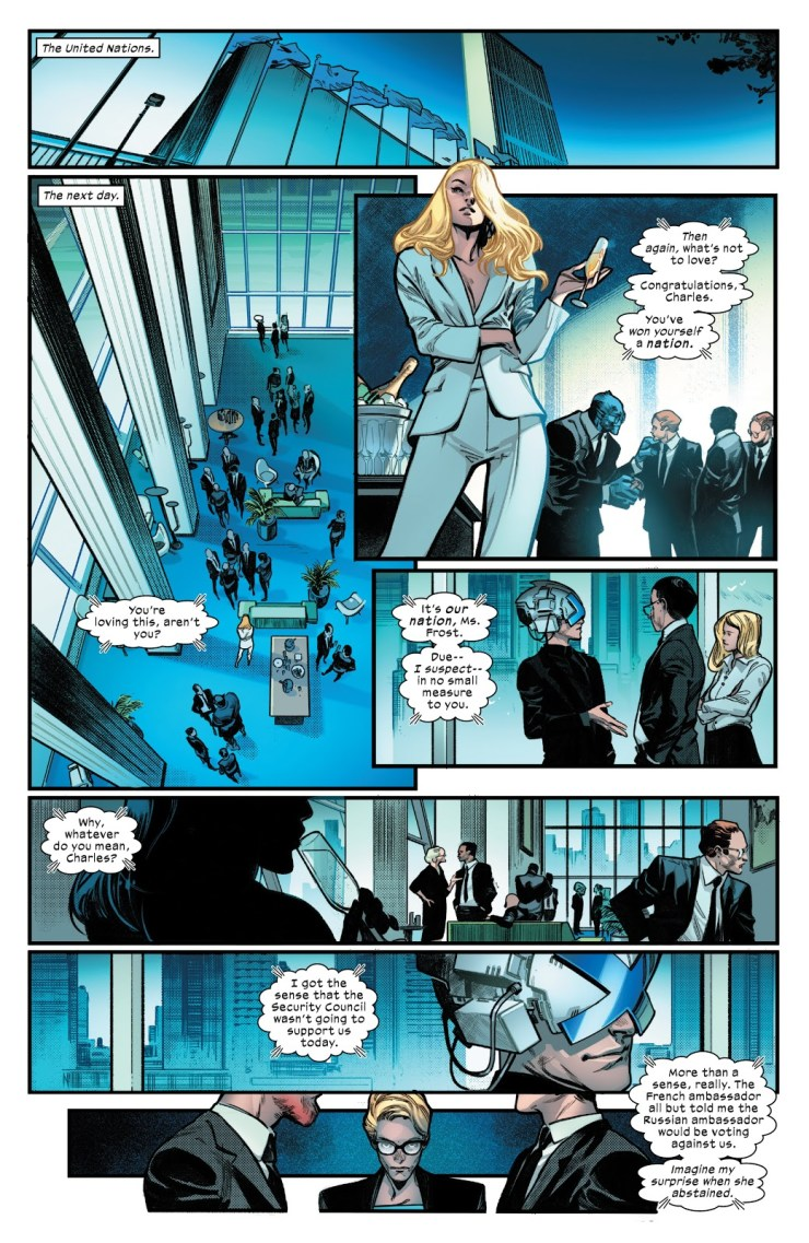 The X best moments from Powers of X and House of X