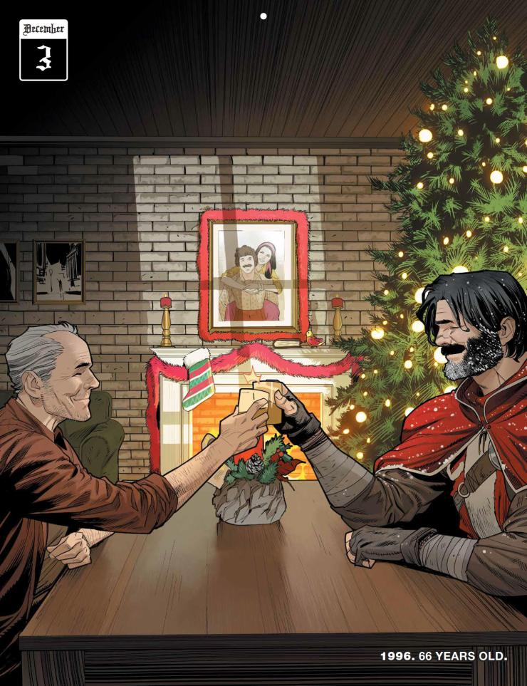 Klaus and the Life and Times of Joe Christmas #1 review