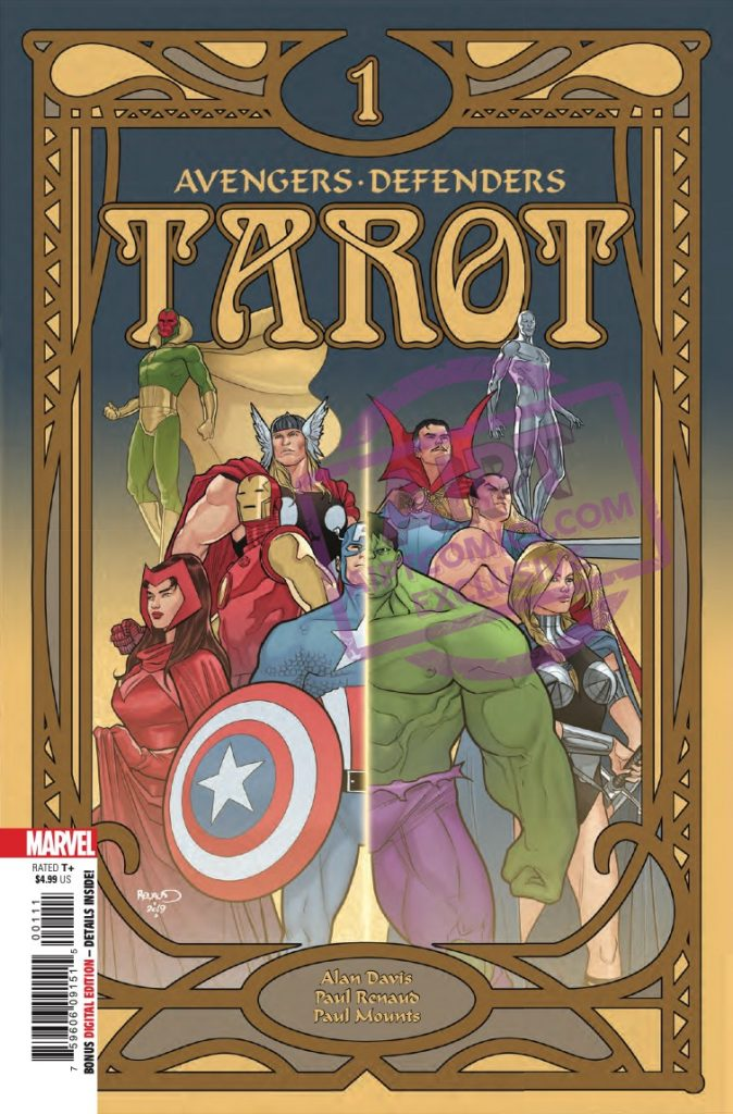 EXCLUSIVE Marvel Preview: Tarot #1