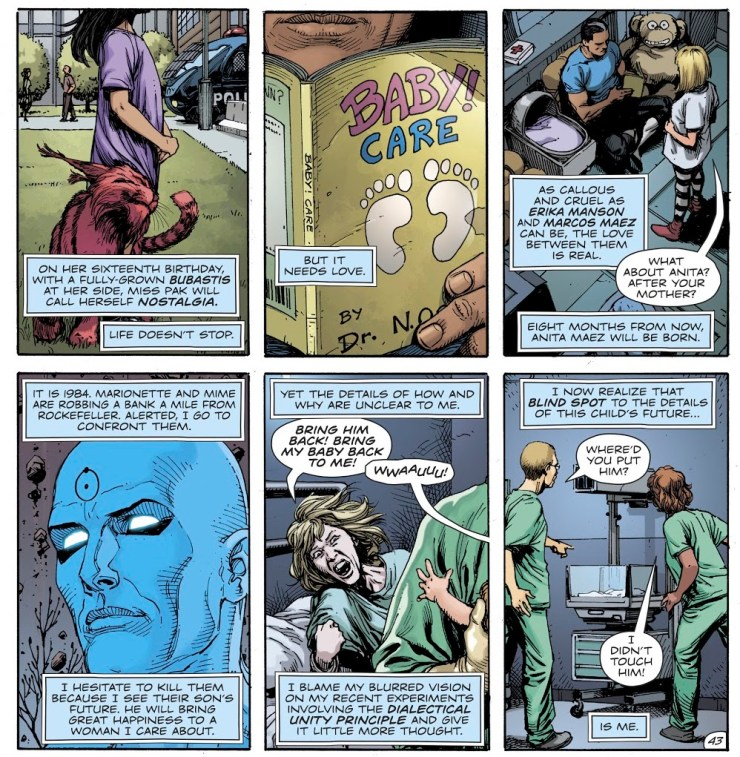 A new kind of hero emerges in 'Doomsday Clock' #12