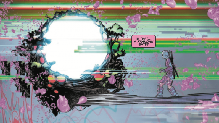 'Gwenpool Strikes Back!' #5 connects to Dawn of X, X-Men, and Krakoa