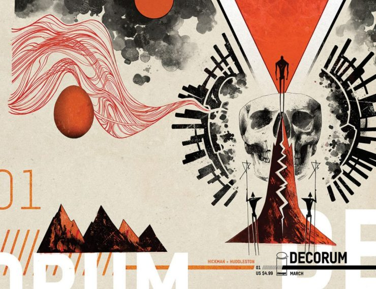 'Decorum,' new Image series from Jonathan Hickman & Mike Huddleston