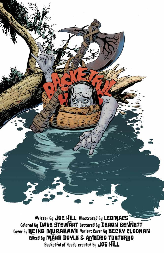 DC Preview: Basketful of Heads #4