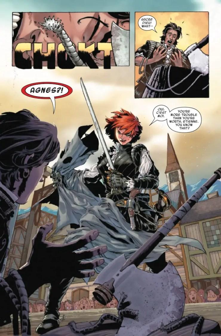 Marvel Preview: Dark Agnes #1