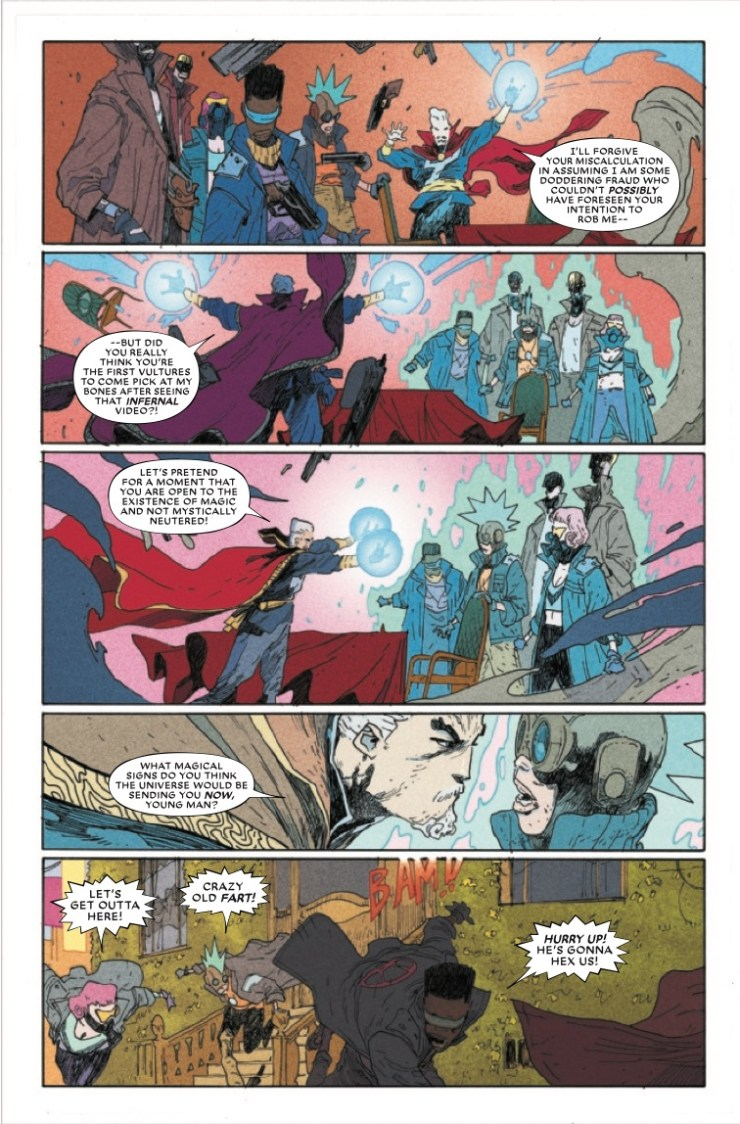 Marvel Preview: Doctor Strange: The End #1