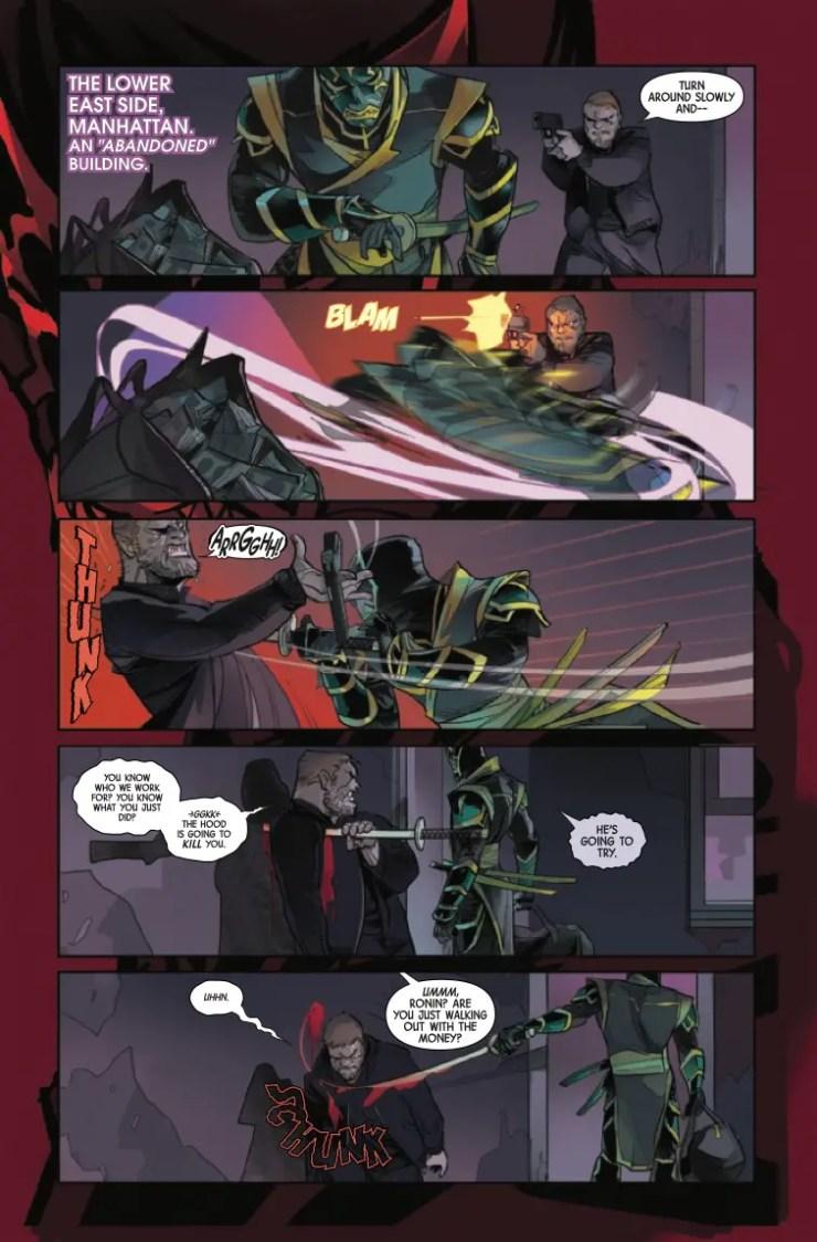 Marvel Preview: Hawkeye: Freefall #2