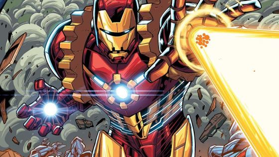 It's (Iron) man vs. machine in the start to a 6 issue mini-event!