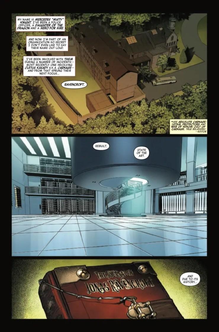 Marvel Preview: Ravencroft #1