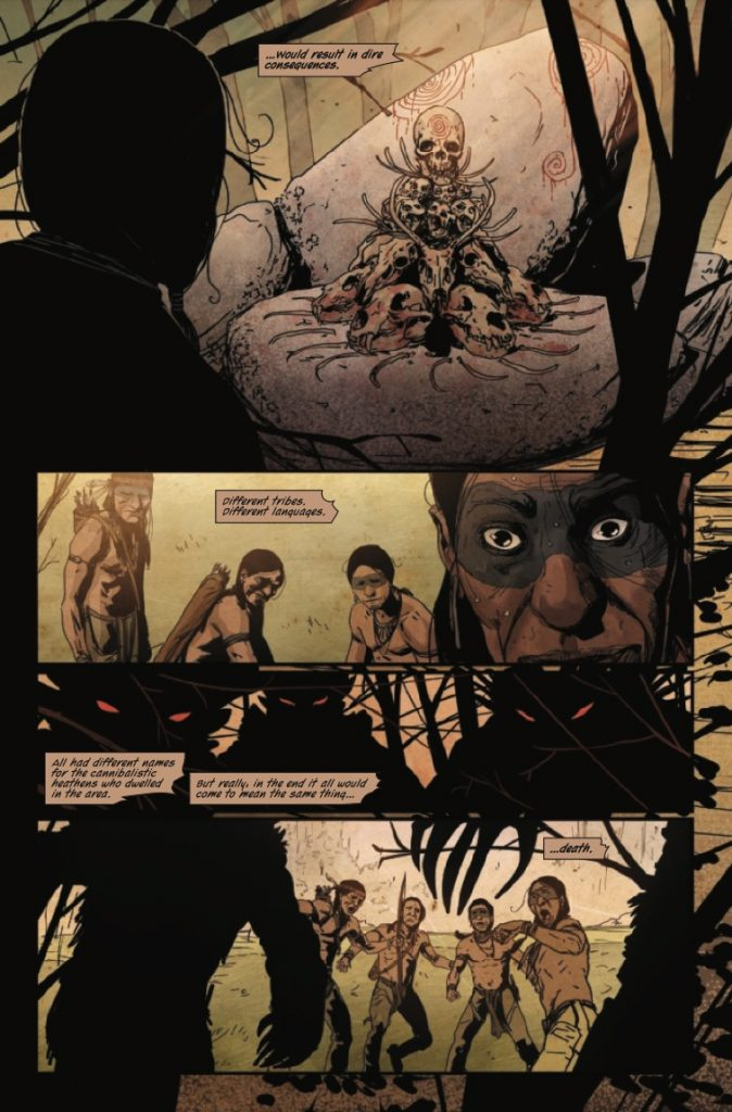 Ruins of Ravencroft: Carnage #1 Review