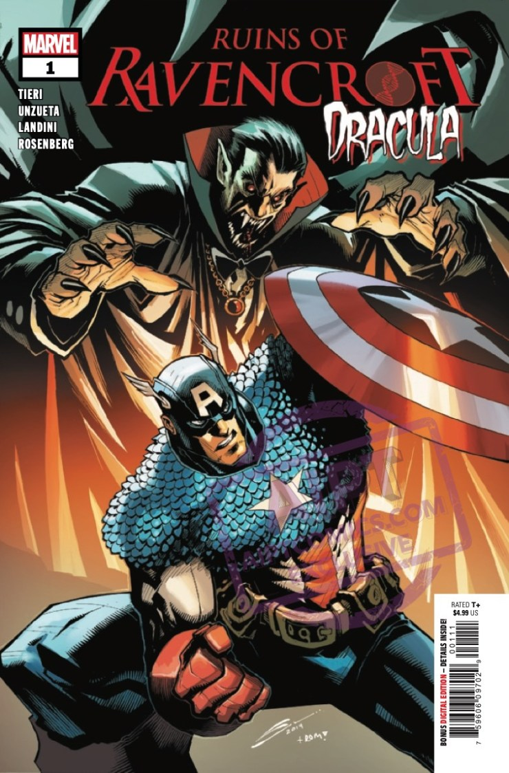 EXCLUSIVE Marvel Preview: Ruins Of Ravencroft: Dracula #1