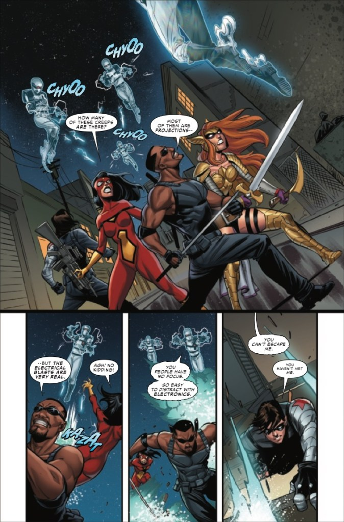 Marvel Preview: Strikeforce #5
