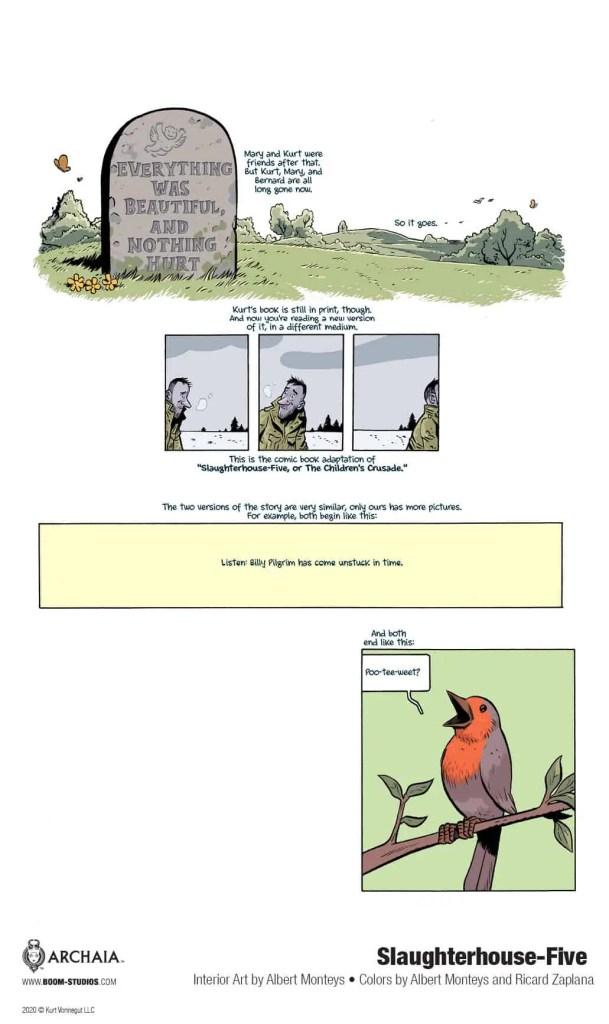 BOOM! Studios announces 'Slaughterhouse-Five' graphic novel adaptation