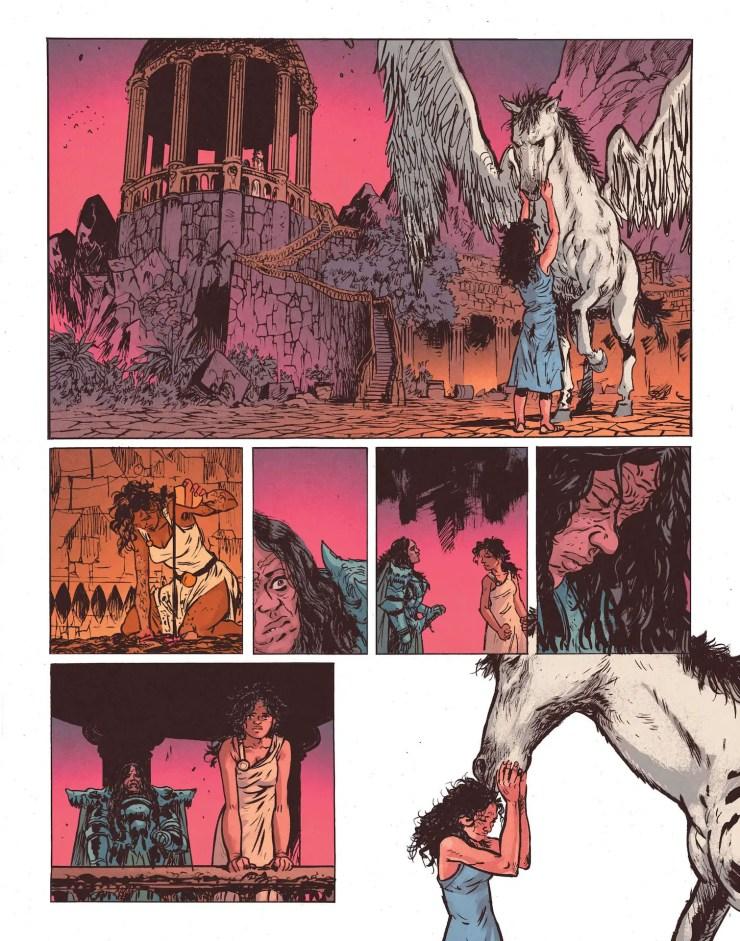 DC Comics Preview: WonderWoman:DeadEarth#2