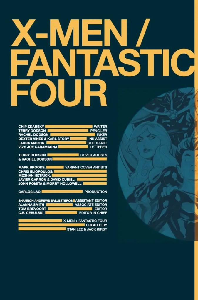 Marvel Preview: X-Men + Fantastic Four #1