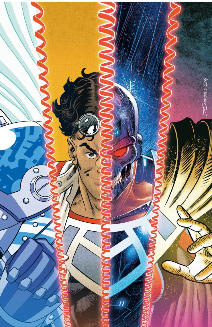 DC Preview: Dial H for Hero #11