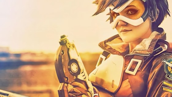 Overwatch: Tracer cosplay by Nonbinate