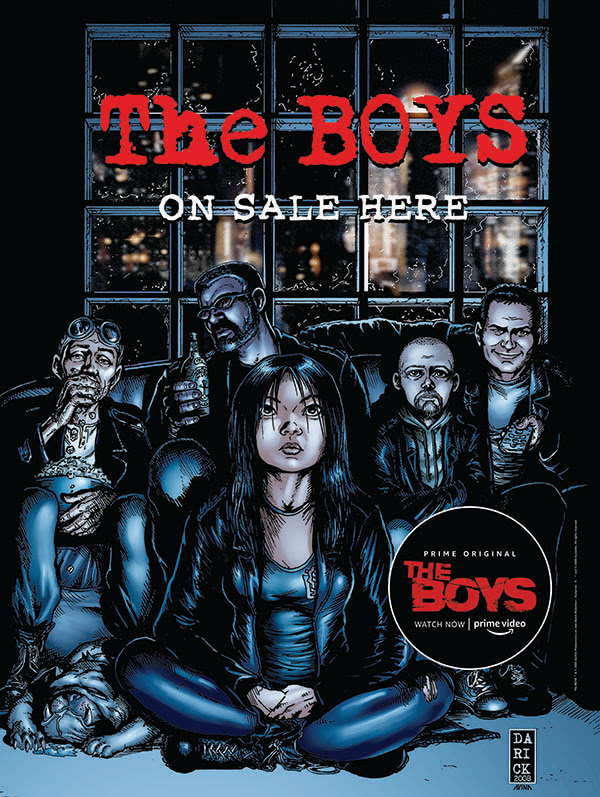 THE BOYS: DEAR BECKY#1will be solicited in Diamond Comic Distributors' February 2019 Previews catalog.