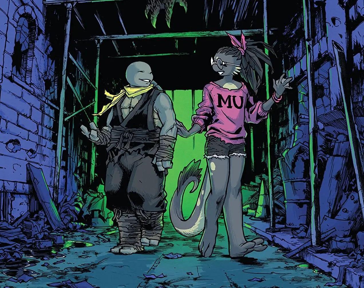 Teenage Mutant Ninja Turtles #102 Review