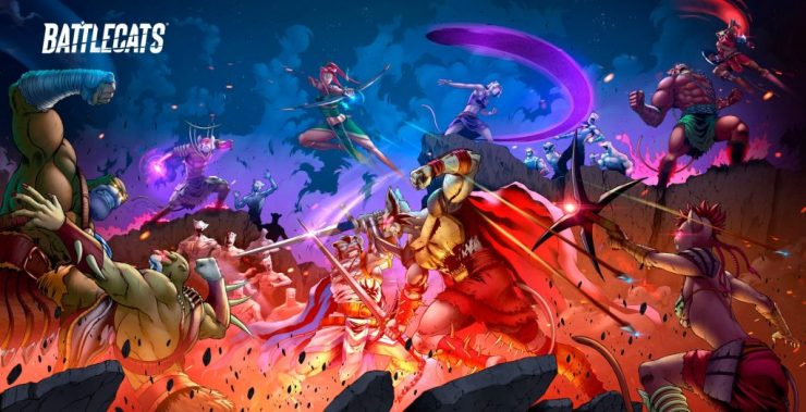 Mad Cave Studios announces three series:  'Knights of the Golden Sun', 'Honor and Curse' and the 'Battlecats' finale.