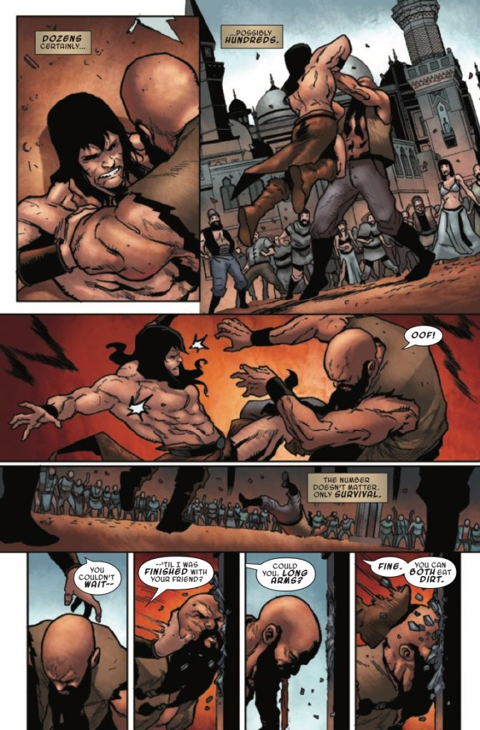 Conan the Barbarian #13 Review