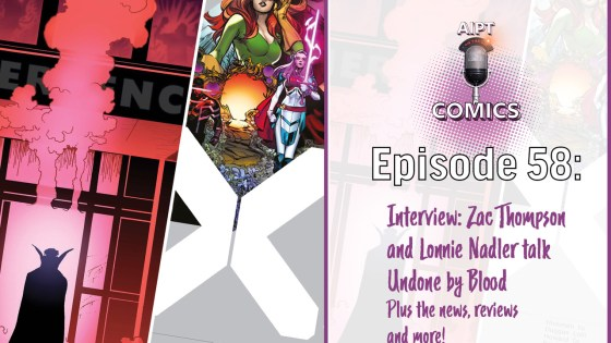 A weekly comics podcast recapping news, reviewing books, and conducting interviews.