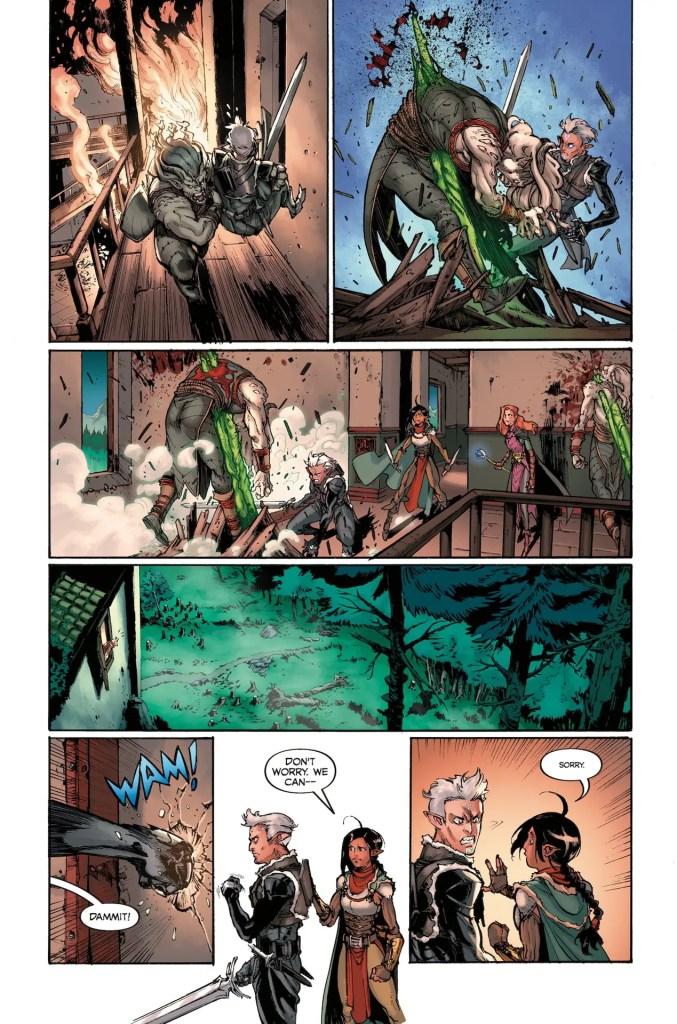 Dark Horse Preview: Dragon Age: Blue Wraith #3