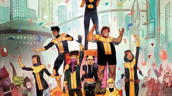 The NEW MUTANTS have found themselves dead in the middle of an intergalactic power struggle.