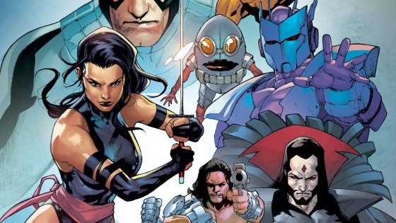 There are a lot of questions surrounding Hellions, even after reading Zeb Wells' answers in this week's X-Men Monday. For instance, is this a follow up to Fallen Angels?What's the deal with this wacky team of killers? What does a team like this even do when you already have X-Force, the Marauders, and X-Men? We find that out and more in Wells and Stephen Segovia's first issue in a tantalizingly exciting first issue.