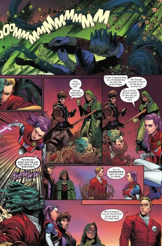 Marvel Preview: Excalibur #8