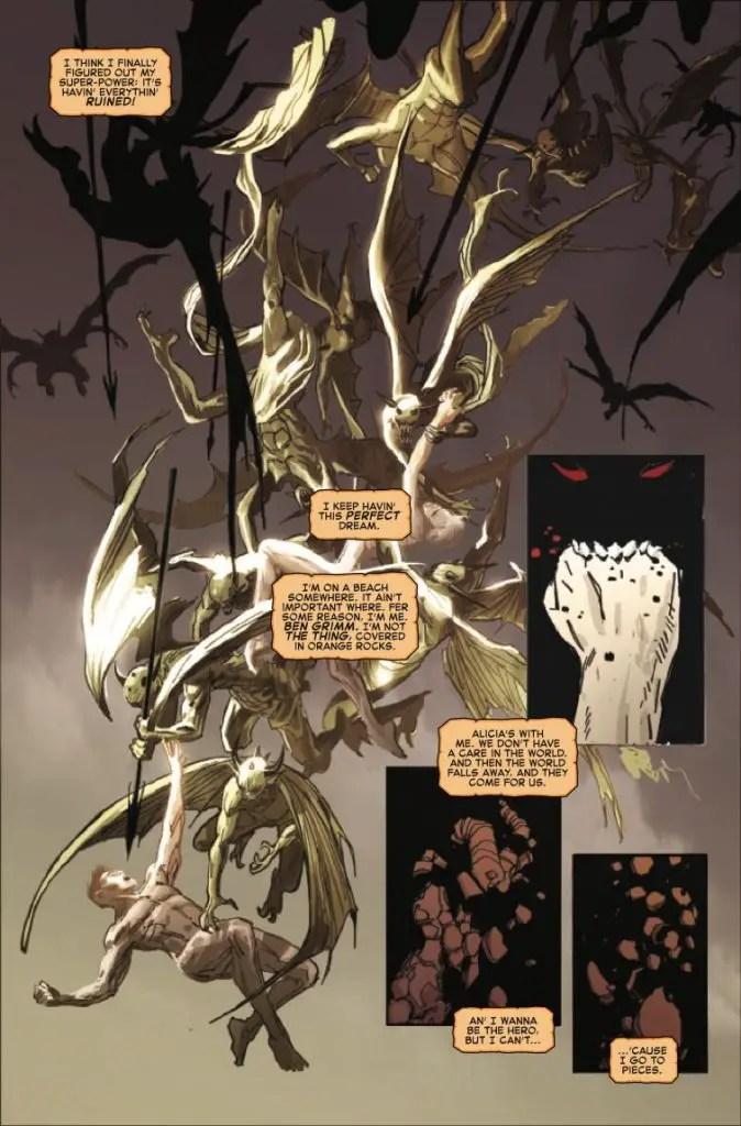 Fantastic Four: Grimm Noir #1 Review