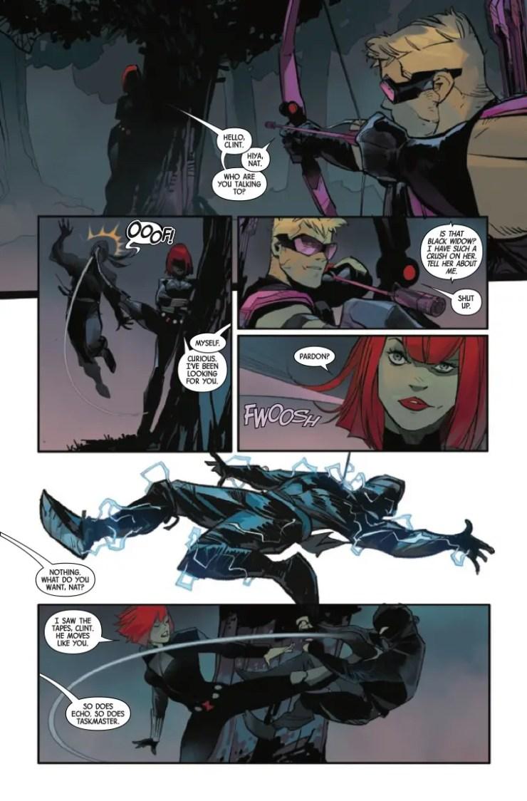 Marvel Preview: Hawkeye: Freefall #3