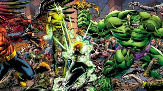 Marvel reveals Hulk vs. Xemnu in Steve Skroce's 'Immortal Hulk' #750 cover