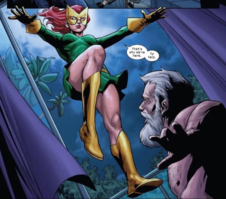 X-Men Monday #49 - Jean Grey + Emma Frost