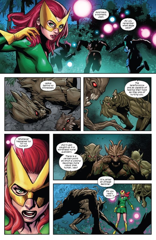 Beast is still awful:  The othering of plant people in 'X-Force' #6