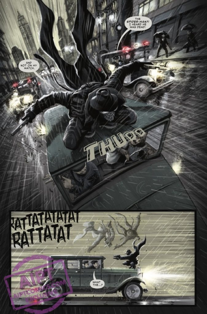 Spider-Man Noir #1 Review