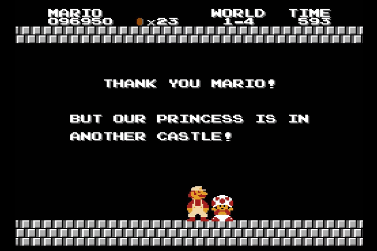 Retro Review: Super Mario Bros.
