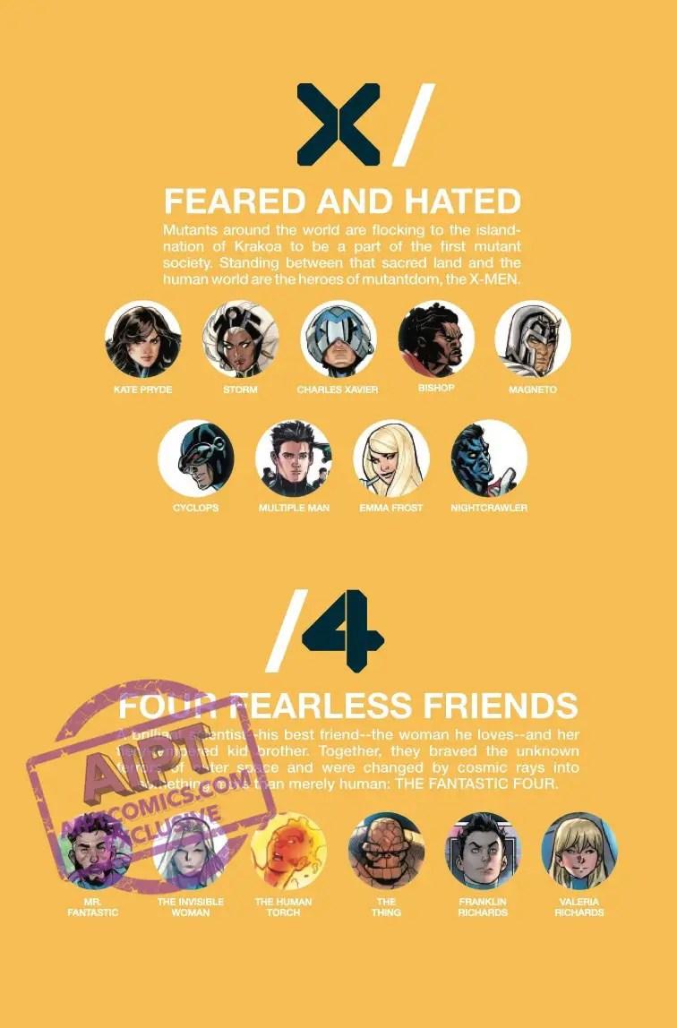 X-Men + Fantastic Four #2 Review