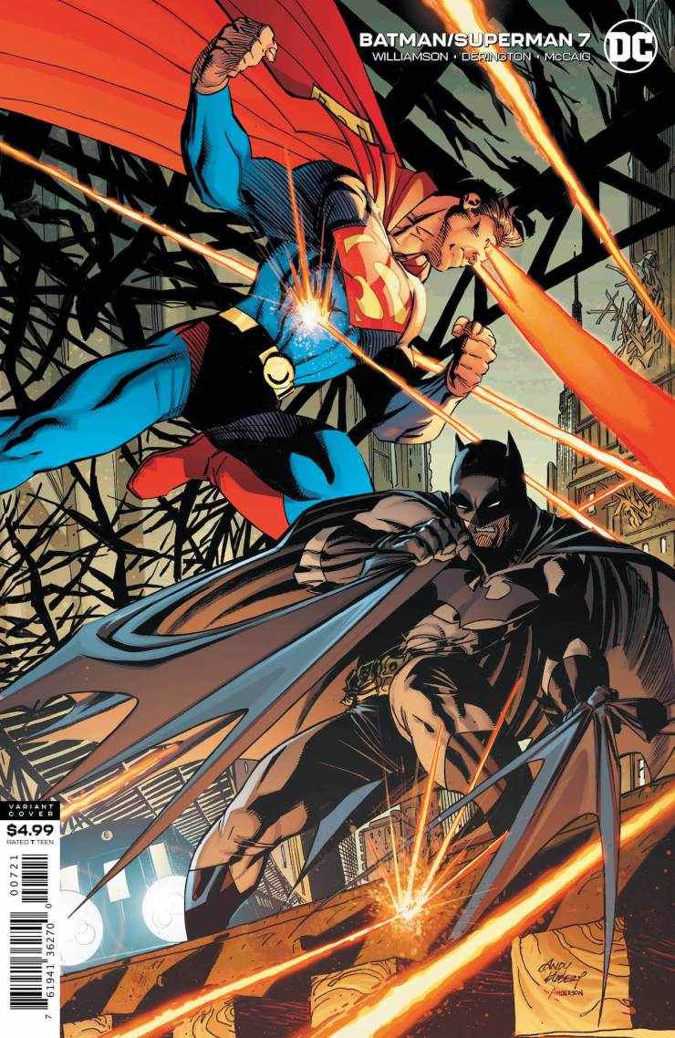DC Preview: Batman/Superman #7