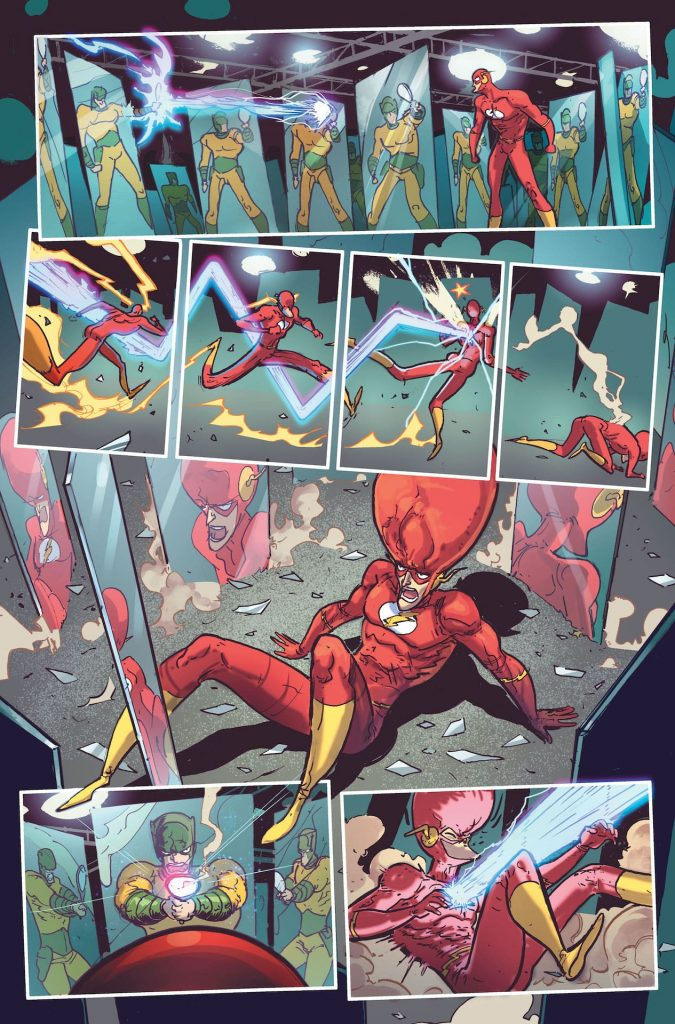 Marv Wolfman and Riley Rossmo pay tribute to The Flash's Silver Age!