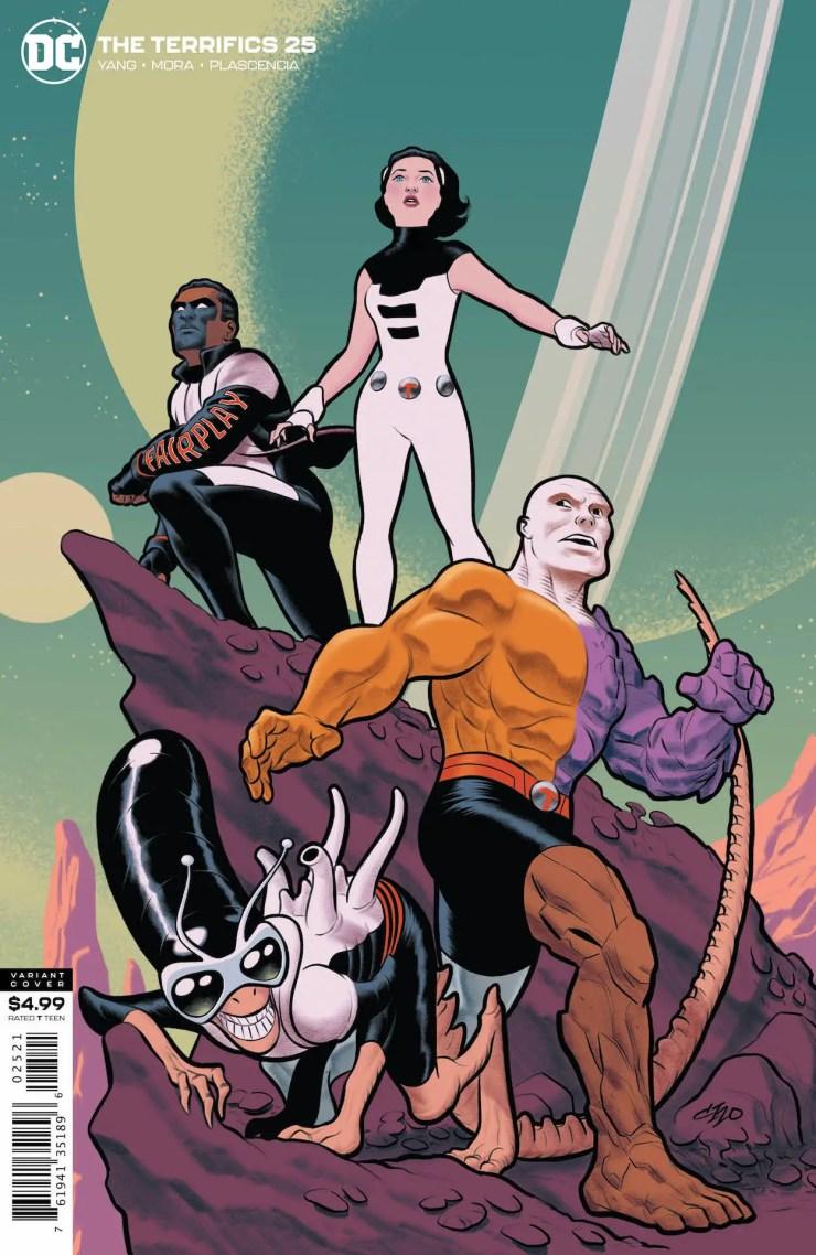 DC Preview: The Terrifics #25