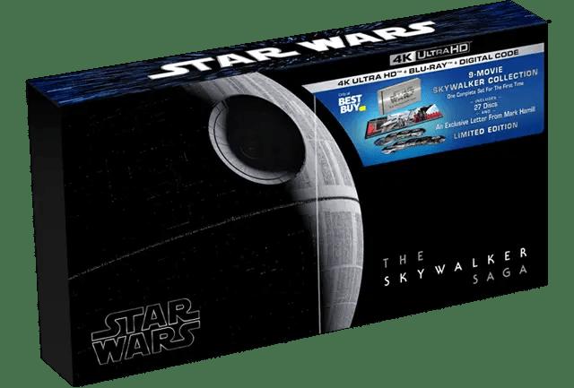 Disney announces complete Skywalker Saga box set in 4K UHD