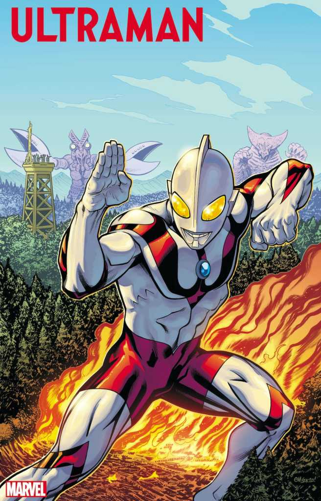 Marvel Comics First Look: Cover and story details revealed for Ultraman