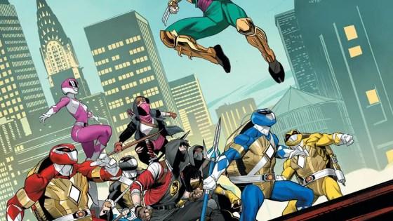 BOOM! First Look: Ninja Turtles as Power Rangers in 'Mighty Morphin Power Rangers/Teenage Mutant Ninja Turtles' #4